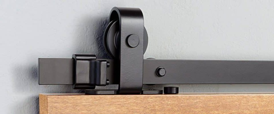 Barn door sliding fittings available at our hardware shop
